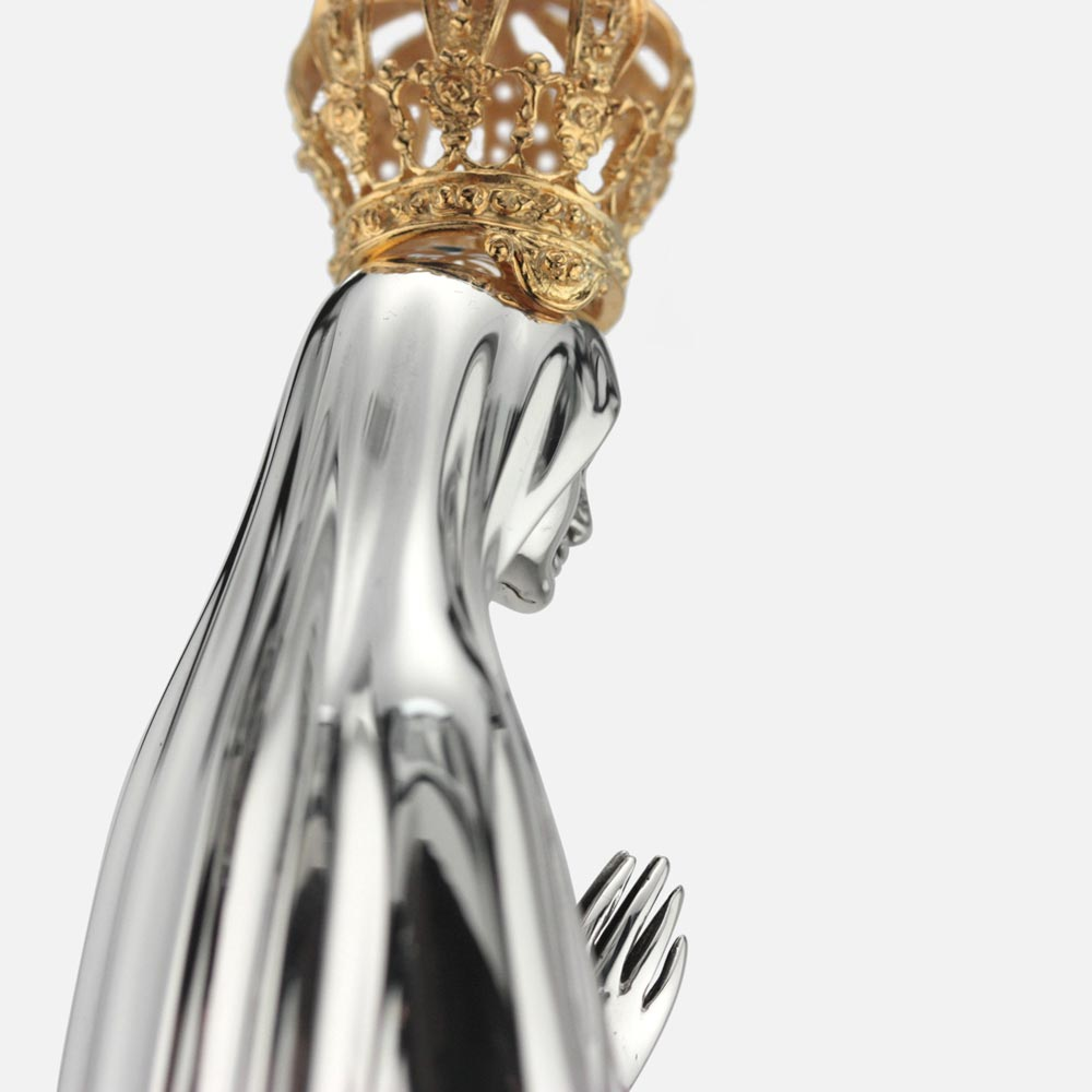 Statuette Our Lady Fátima Crown Roses